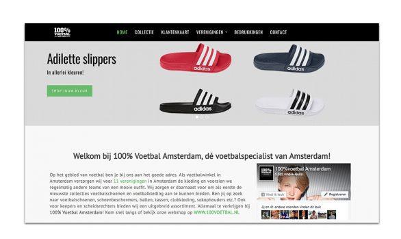 100% VOETBAL AMSTERDAM | Mailchimp & Ideal koppeling
