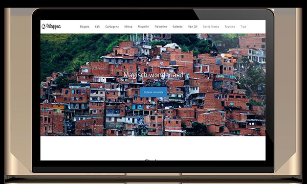 blog website mappea portfolio kleidi