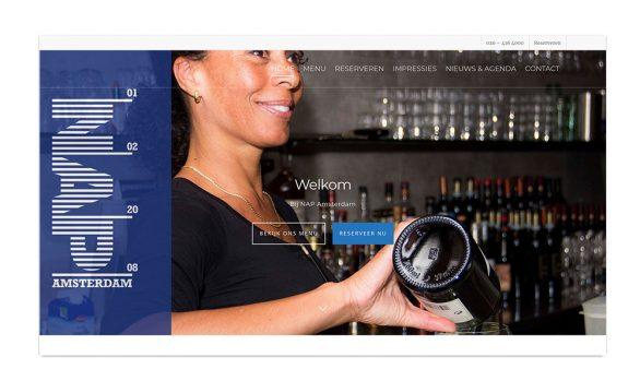 NAP Amsterdam   website restaurant