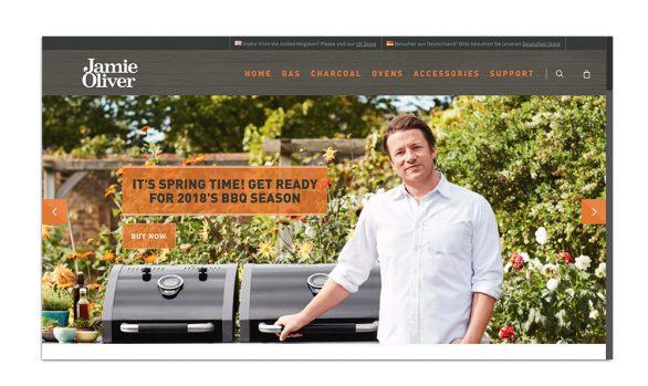 JAMIE OLIVER BBQ | REBRANDING WEBSITE