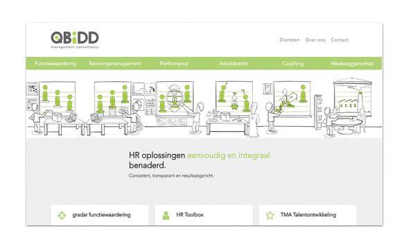 QBiDD functiewaardering animatie website kleidi