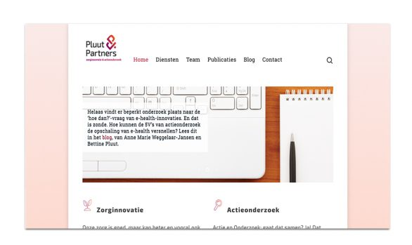 Pluut & Partners | Redesign