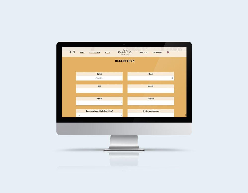online reserveringssysteem horeca website restaurant