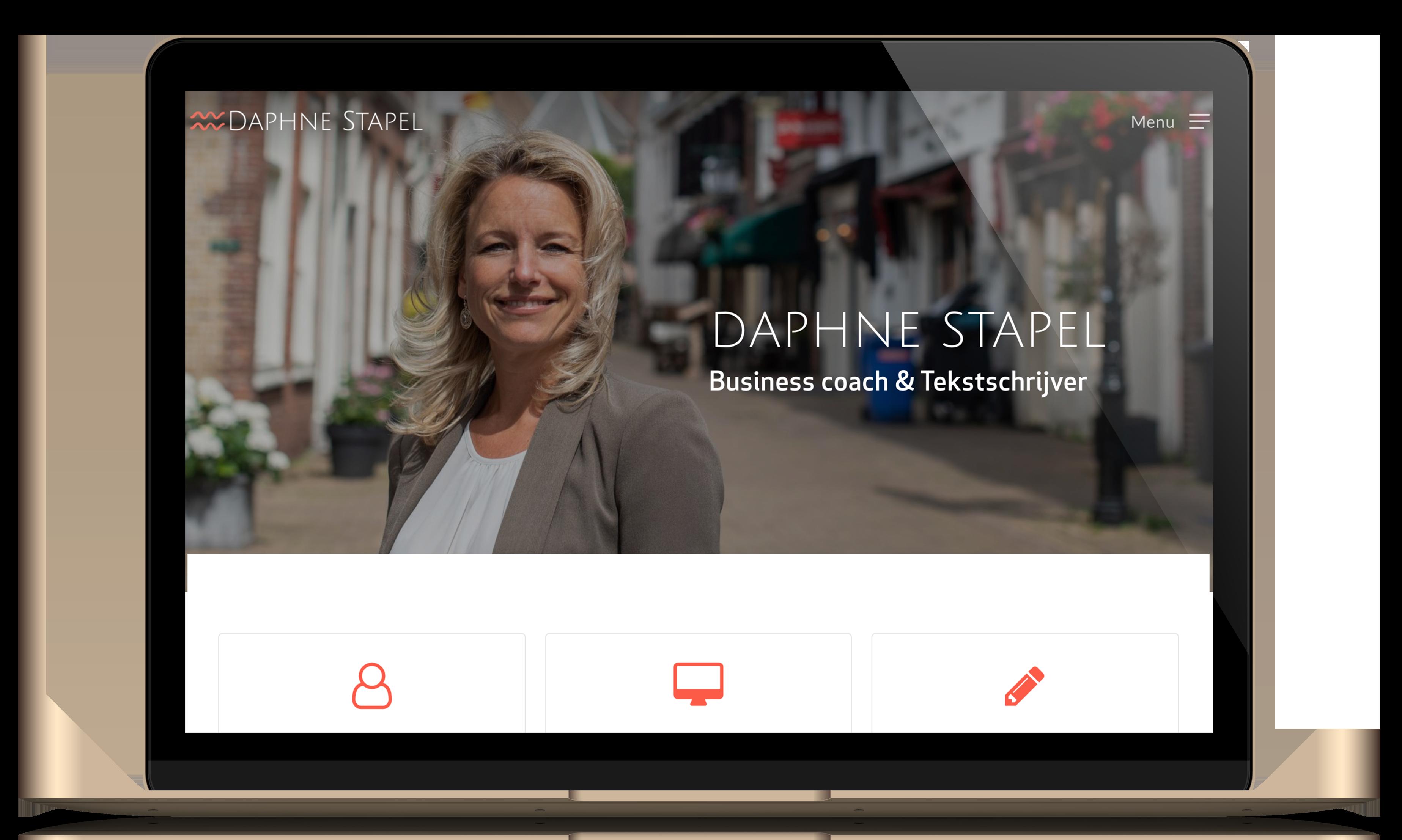 website tekstschrijver daphne stapel kleidi