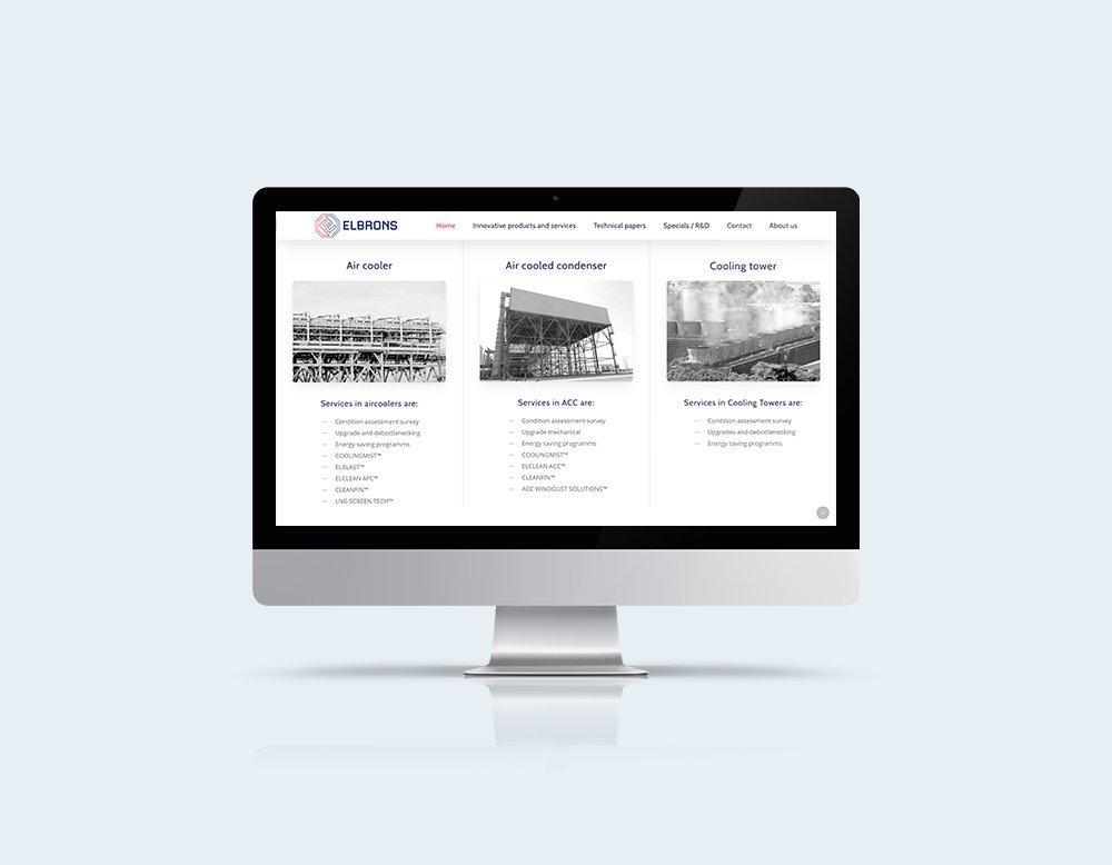 elbrons professionele website kleidi