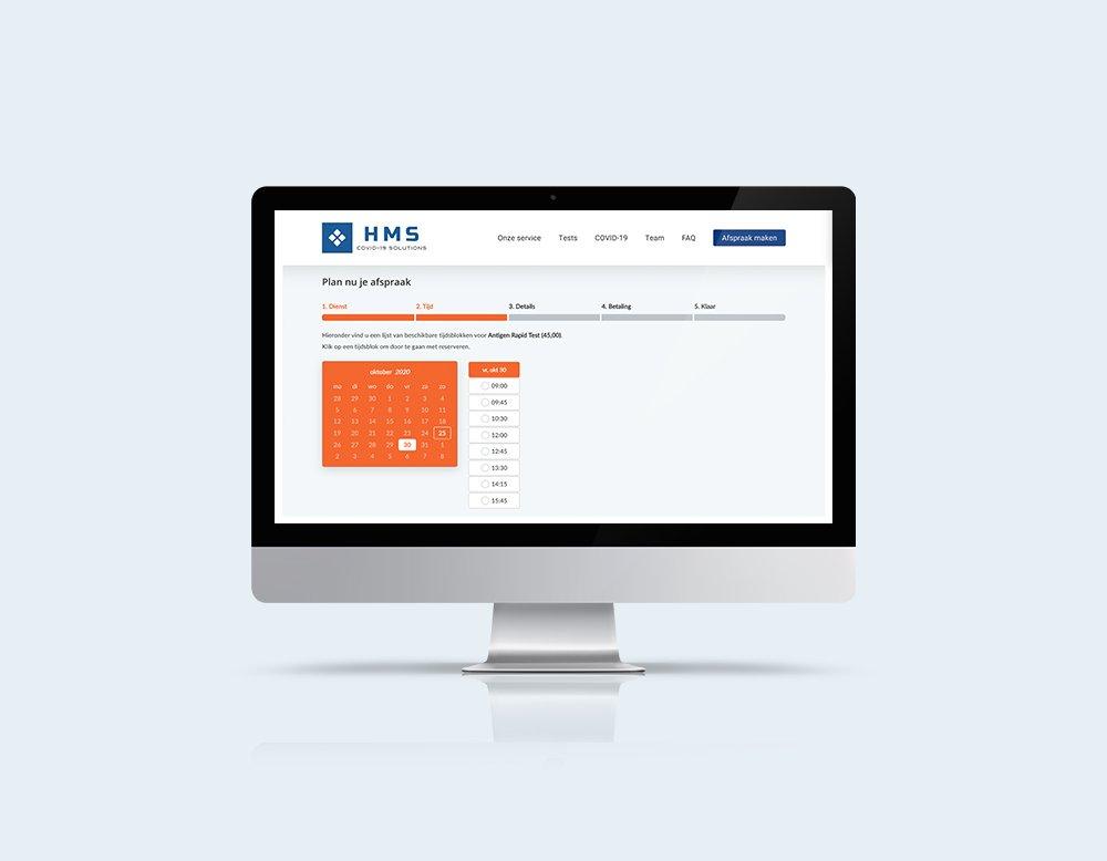 professionele website of webshop laten maken Bookly online agenda hietink medical solutions website kleidi